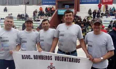 Olimpíadas bomberiles: «El equipo Senior salió sub campeón y clasificó para las nacionales»