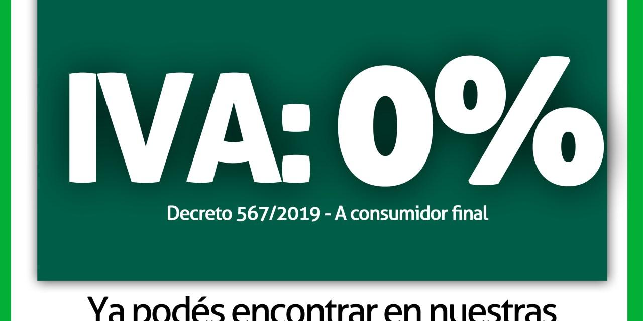 Cotagro ya cuenta con productos Sin IVA