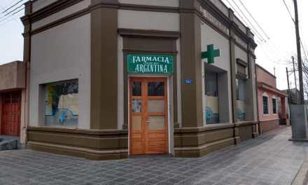 Mañana Jueves abre sus puertas Farmacia «Argentina»