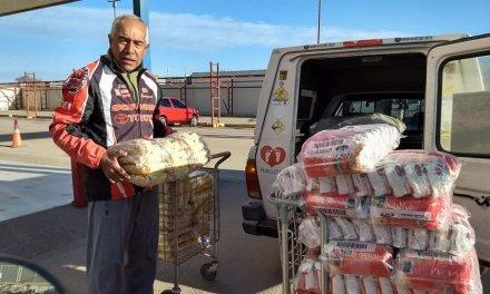 Con 2000 kg de alimento, Cabrera Solidaria viaja a Santiago del Estero