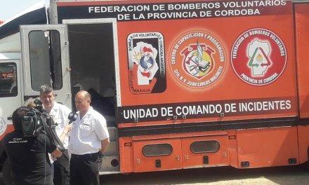 Bomberos: la Federación de Córdoba celebra sus 50 años