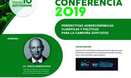 «Agro-conferencia 2019» – Organiza Cotagro en el marco de los 75 años
