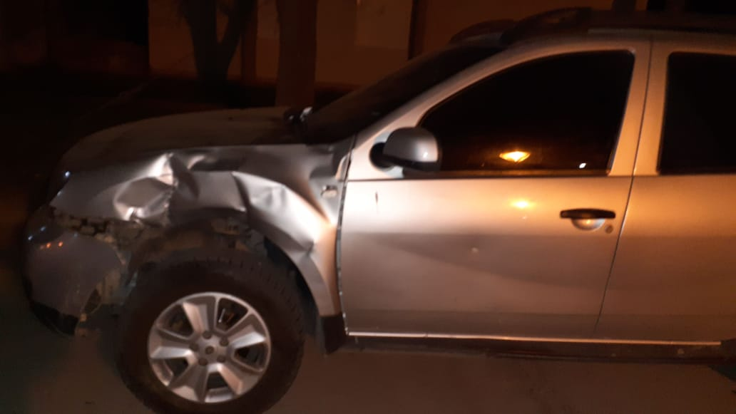 Accidente de tránsito con lesionado