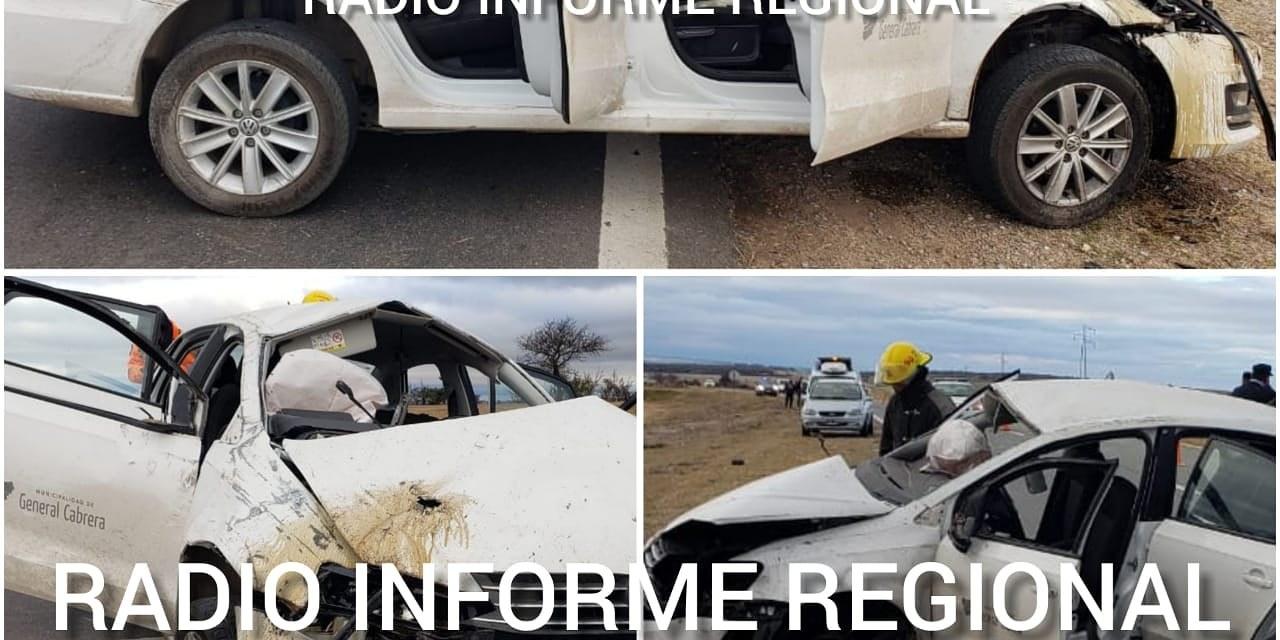Carasso fue trasladado conciente al Hospital Privado de Córdoba