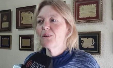 Elena Abba es la nueva Presidente de la Comisión Directiva de Bomberos Voluntarios