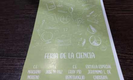 Feria de Ciencias en la escuela Fray Pío Bentivoglio