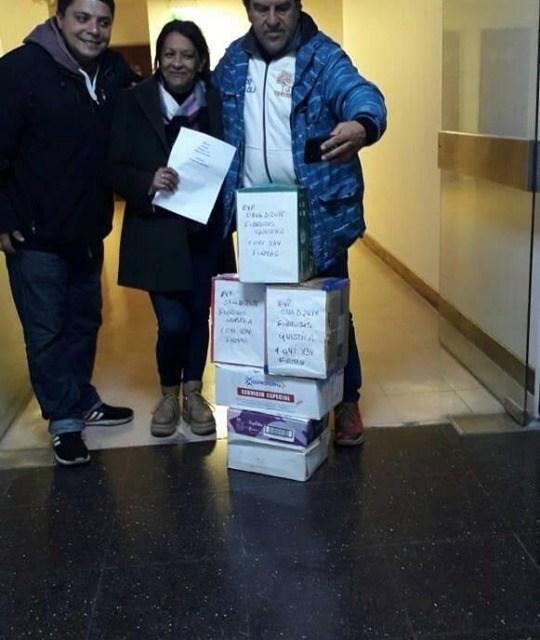 Ley Fibrosis Quística – Se presentaron en el Congreso 1.041.834 firmas