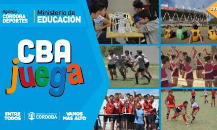 Jóvenes de atletismo participan de instancia provincial en el programa «Córdoba Juega»
