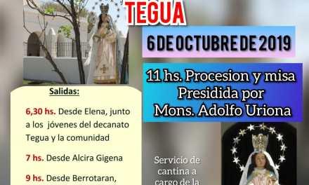 Peregrinación a Capilla de Tegua
