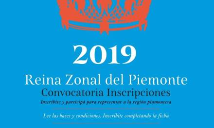 Continúa abierta las inscripciones a postulantes de Reina para la Fiesta del Piemonte