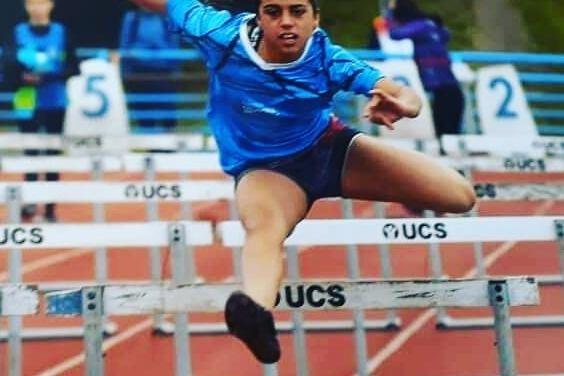 Priscila Galasso obtuvo el 3° puesto en la final de 80mts. llanos en los Juegos Evita
