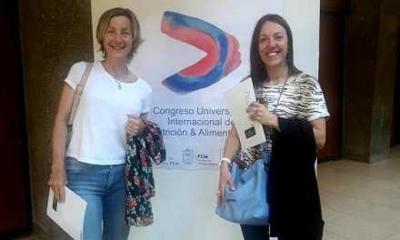 Las Lic. Betina Tobler y Gabriela Riva participan del 1° Congreso Internacional de Alimentación y Nutrición