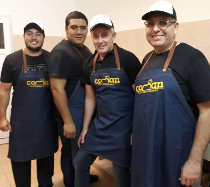 Los cocineros de COMAN se presentan en Hernando