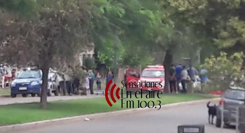ACCIDENTE- 2 JOVENES FUERON TRASLADADOS