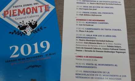Programa visita de Hermanos de San Maurizio