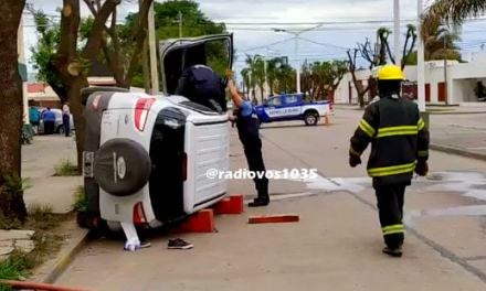 Gral. Deheza: Accidente con lesionados