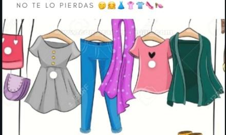 Feria de ropa y Peña organizada por el Taller Aprendiendo a Vivir