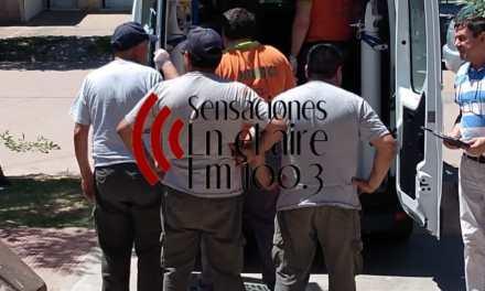 Persona de sexo masculino sufre accidente laboral y es trasladado a Río IV con pronóstico reservado