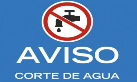 Suspenden por algunas horas el suministro de agua en B° Argentino