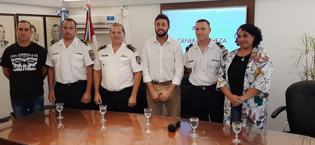 Luciano Audero es la nueva autoridad de la Comisaria de General Deheza