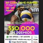Todo listo para disfrutar de la 24° edición de la Copa David Fuentes