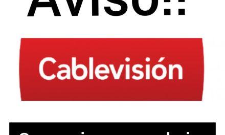 Cablevisión sin atención al público y con teléfono de guardia