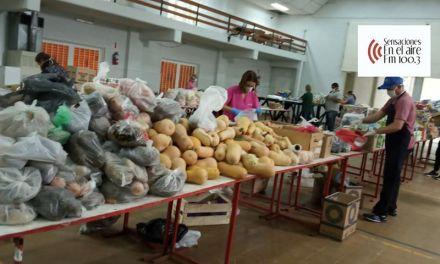 Ayuda social: 330 familias beneficiadas con la colecta solidaria