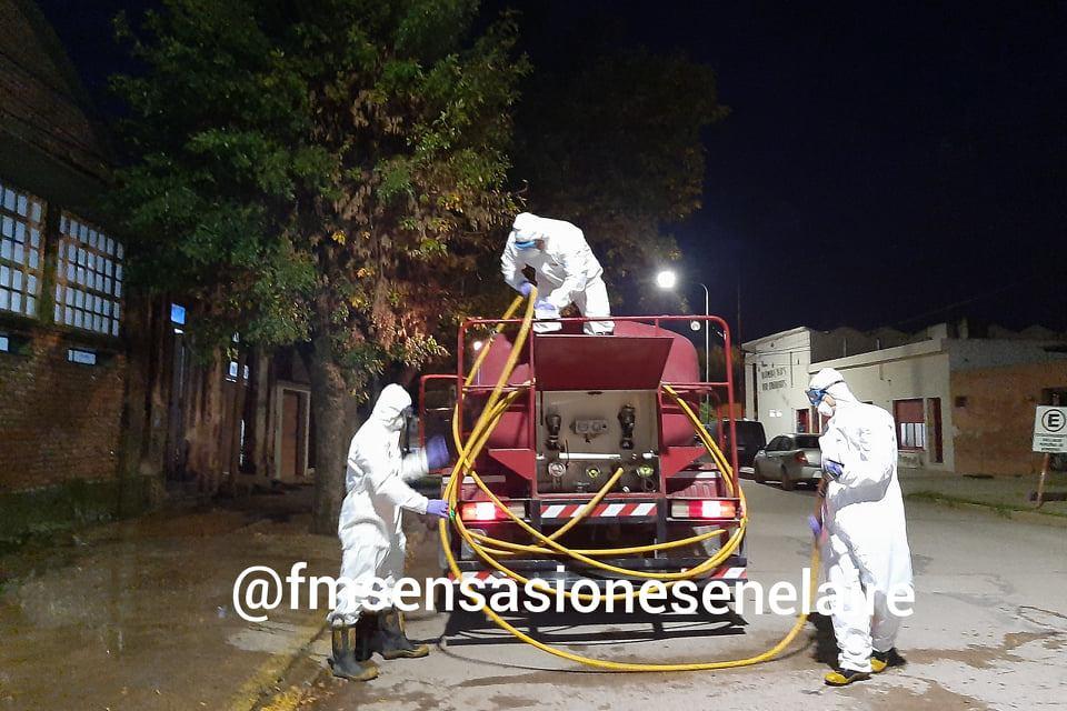 Cabrera- Comenzaron a desinfectar