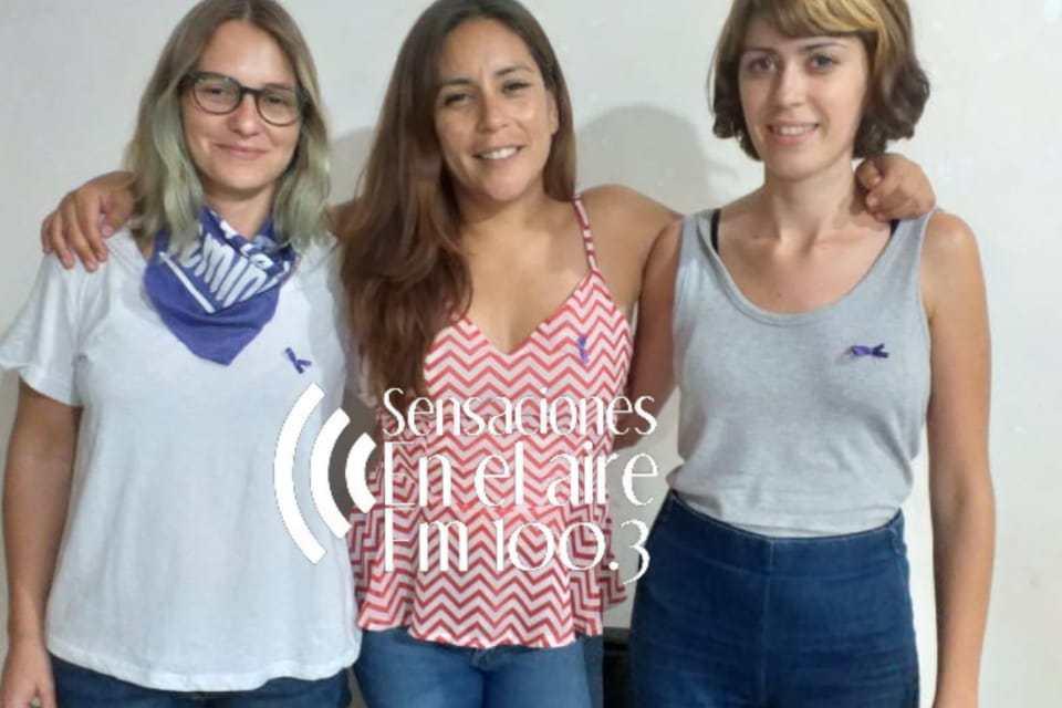 Representantes del Colectivo «Ni una menos» de Río IV brindaron un taller