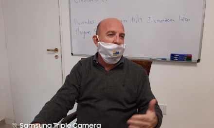 Conferencia de prensa: Colocación de arcos de desinfección y  flexibilización de rubros de trabajo