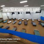 Centro de aislamiento en Club Defensores