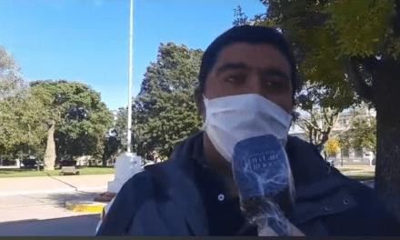Tercera fumigación contra el dengue