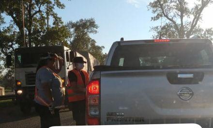 Controles: Dos personas que venían de Córdoba fueron retenidas en el control al acceso de la ciudad