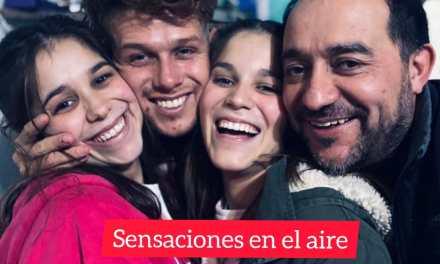 En un reencuentro muy emotivo con su familia, regresó a la ciudad el «Colo» Gómez