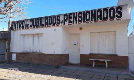 Centro de Jubilados y Pensionados – Desde el lunes reactivan el servicio de Pedicuria y Enfermería