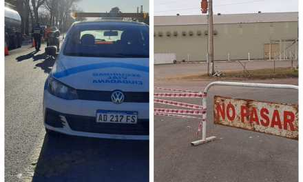 Medidas Preventivas: Cierre de accesos y acompañamiento de vehículos
