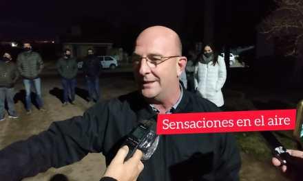Aniversario de Cabrera: «Inauguraron nuevas luminarias Led»