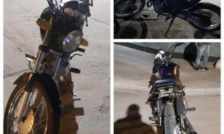 Colisionaron dos motos