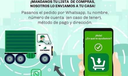 Cotagro vuelve con el servicio Delivery para personas en aislamiento
