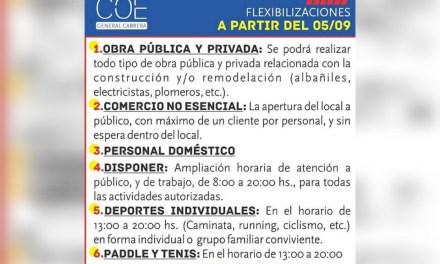 Cabrera: Nuevas flexibilizaciones