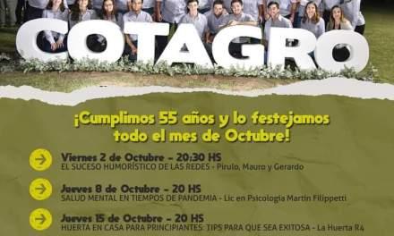 La Juventud Mateo Barra cumple 55 años y lo festeja de manera virtual todo Octubre