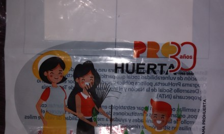 Entrega del Kit de semillas «Pro-Huerta»… Este año compartiendo!