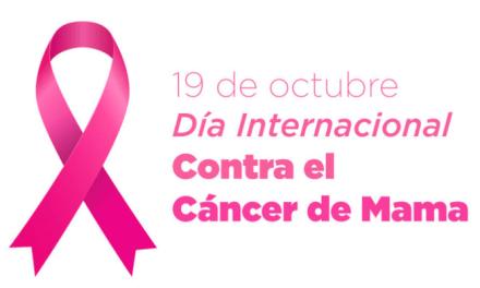 Mes Rosa – mes de la Prevención del cáncer de mama