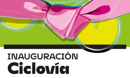 Maratón de inauguraciones – Repavimentación en ciclovía, luces Led y pavimento en B° Argentino
