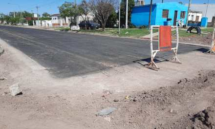 Se asfaltarán 5 cuadras en Barrio Argentino