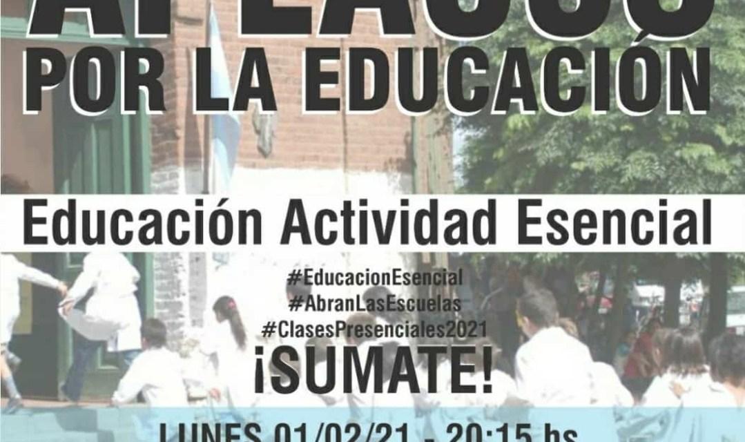 Padres Organizados Cabrera convocan a un«Aplauso por la Educación»