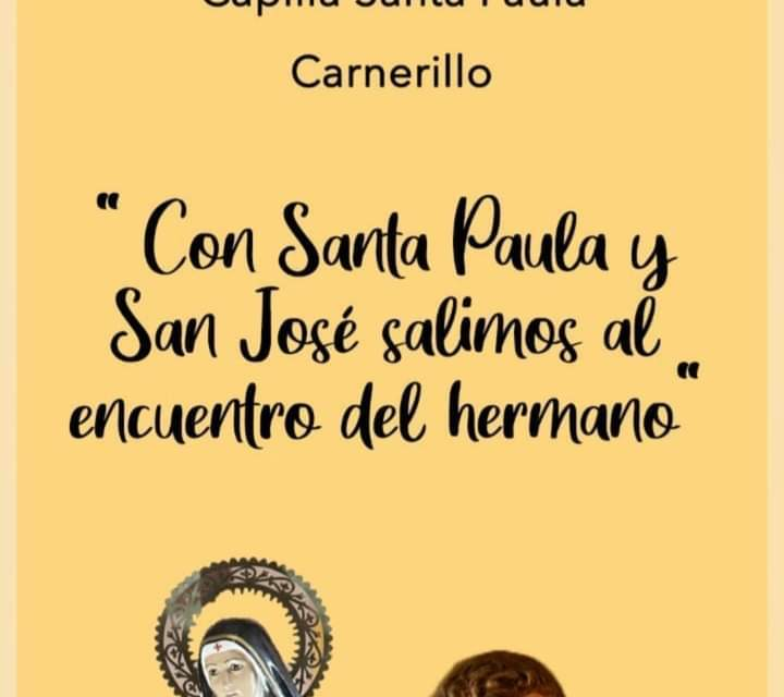 Carnerillo – Comienza la Novena en honor a Santa Paula