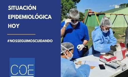 Situación epidemiológica 10 de Enero