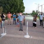Inauguraron Luces Led en calle Córdoba y Brasil