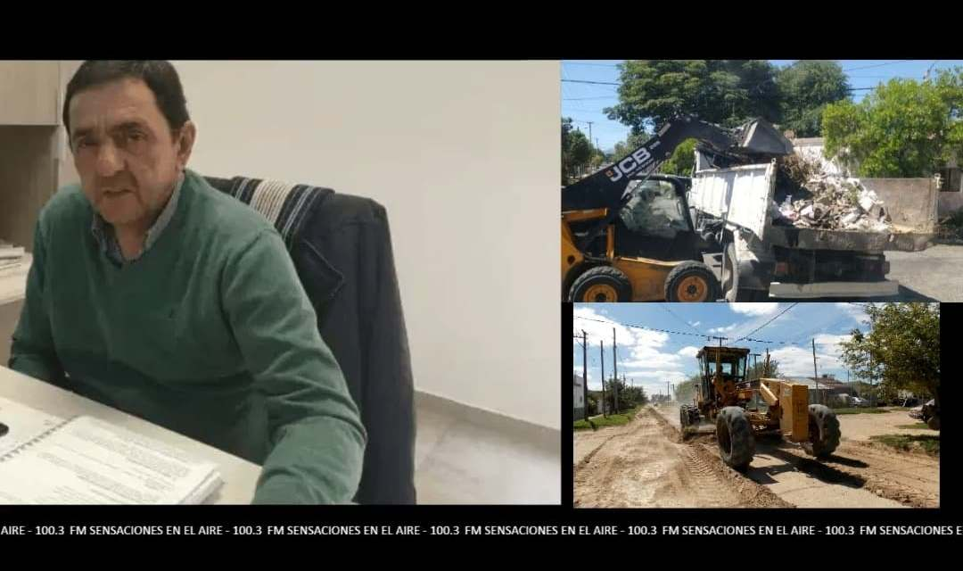 Servicios públicos, arreglo de calles,cronograma recolección de residuos